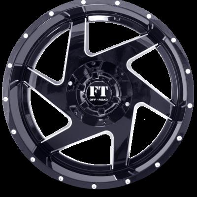 FT6052 BLACK MILLED