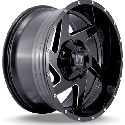 FT6052 BLACK MILLED SIDE