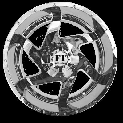 FT6052 Chrome front wheel