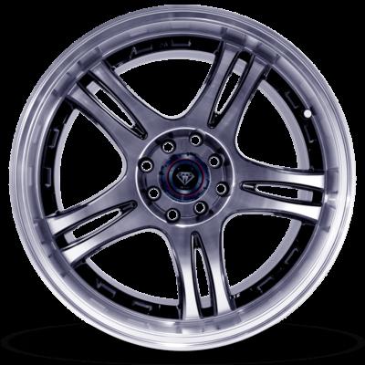 W354-polish-face-black-front-wheel